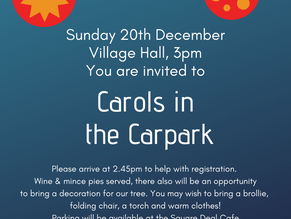 Carols in the Carpark (CANCELLED)