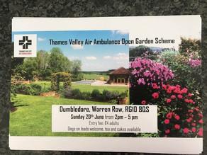 Thames Valley Air Ambulance Open Garden Scheme