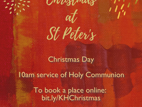 The Christmas Service at St. Peter's is CANCELLED