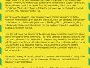 Windsor & Maidenhead on the brink of Tier 2
