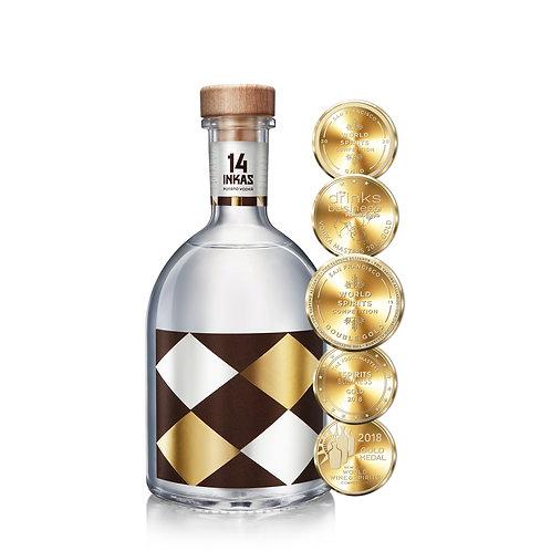 Vodka 14 Inkas 750ml
