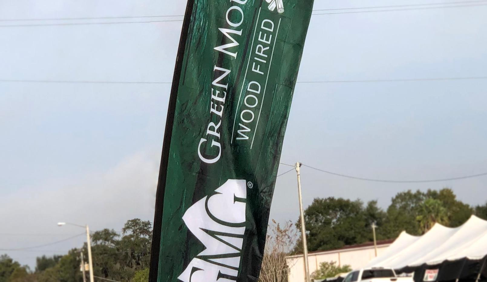 Outdoor Promo Flag - Green Mountain Grill