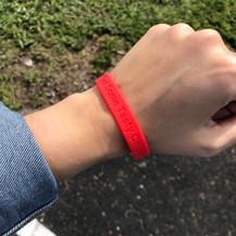 Silicone Gel Wristband
