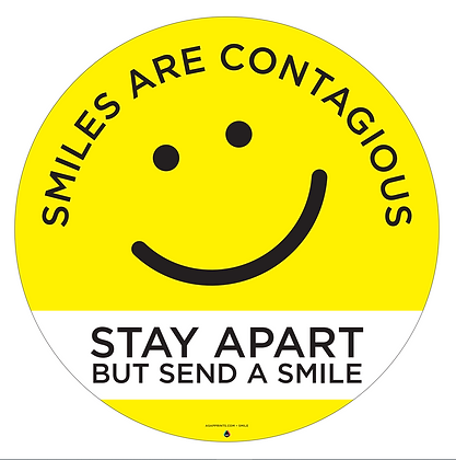 Smiles - Distance Decal
