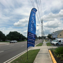 Outdoor Promo Flags