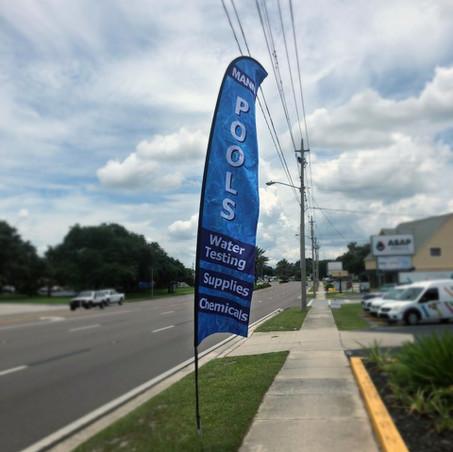 Outdoor Promo Flags