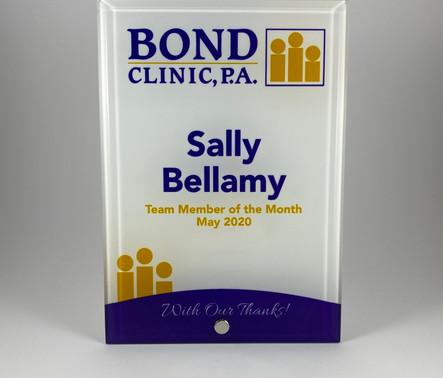 Bond Glass Plaque.JPG