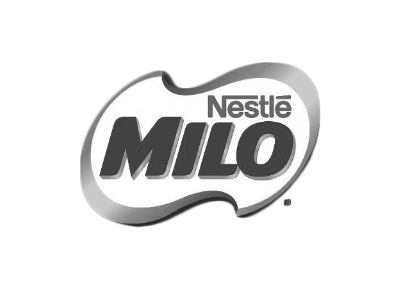 milo b and w transparent