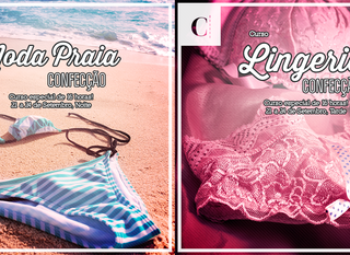 Intensivos de Lingerie e Moda Praia!
