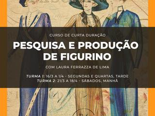 NOVIDADE: Pesquisa e Produção de Figurino na CoutureLab Porto Alegre!