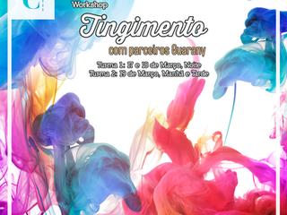 Workshop de Tingimento, com parceria da Guarany!