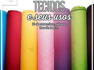 Workshop Tecidos e Seus Usos