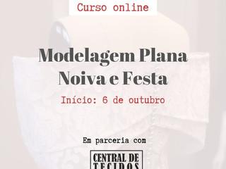 Curso Modelagem Plana Noiva e Festa ONLINE!