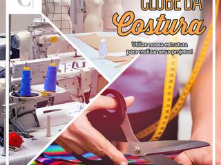 Clube da Costura - Venha costurar na CoutureLab!