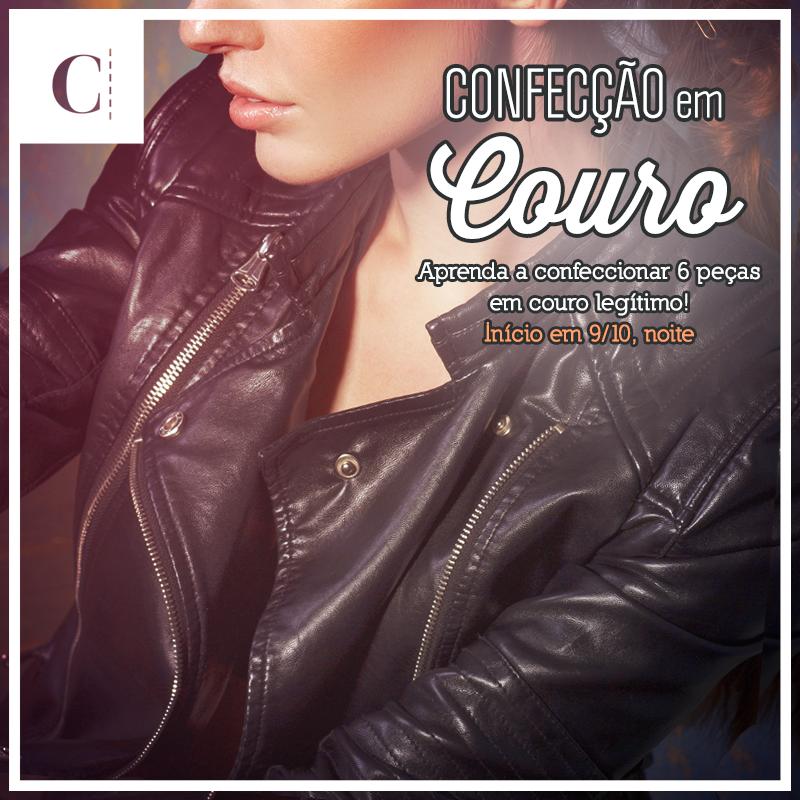 Curso Confecção em Couro na CoutureLab Escola de Moda