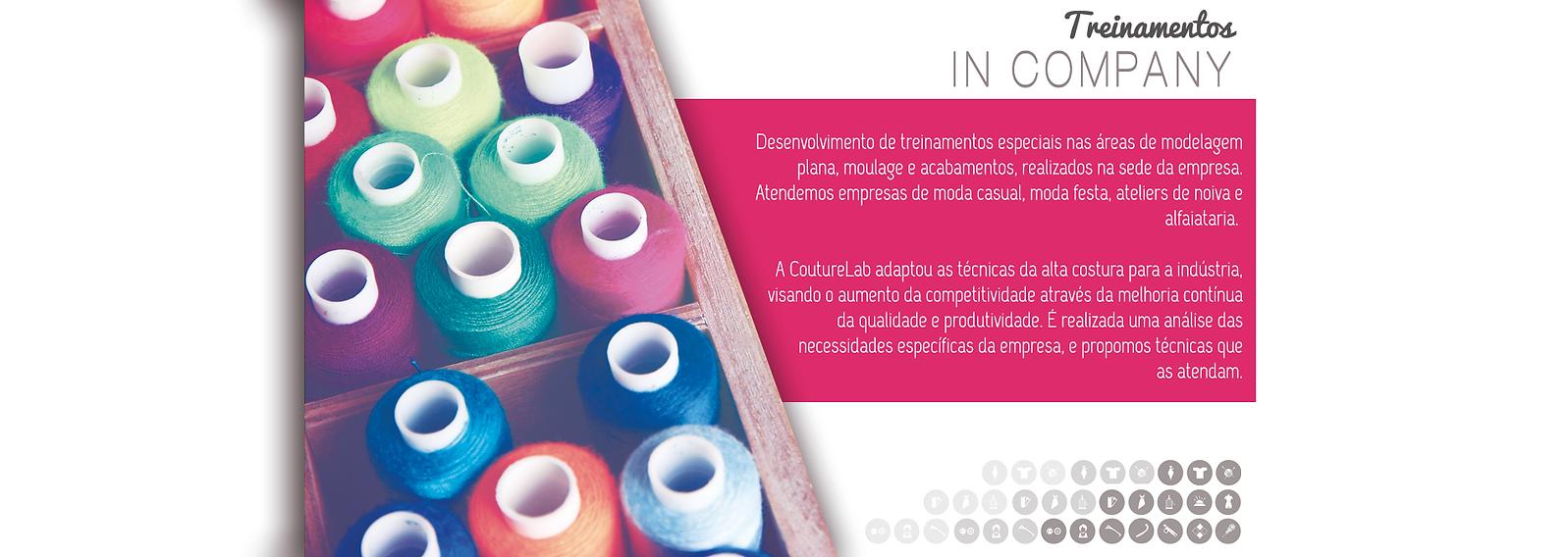 Treinamentos In Company - CoutureLab