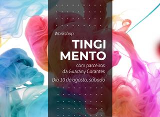 Workshop Tingimento na CoutureLab São Paulo