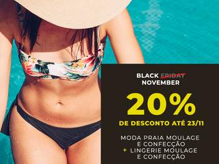 BLACK FRIDAY 2019 - Pacote Lingerie + Moda Praia Moulage & Confecção!