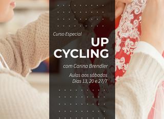 Curso Especial de UPCYCLING, com Carina Brendler, em Porto Alegre