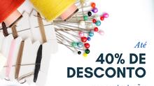 Até 40% de Desconto no Retorno às Aulas!
