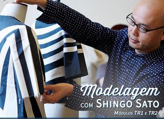 Modelagem com Shingo Sato - TR1 e TR2 em Porto Alegre!