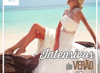 Faça seu curso de moda no verão em formato intensivo!