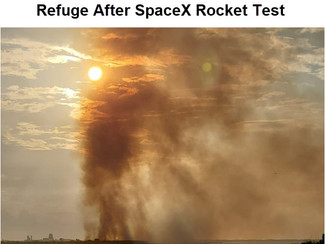 SpaceX Starts Fire in Texas Wildlife Refuge