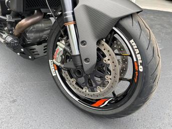 KTM Superduke Wheel Graphic