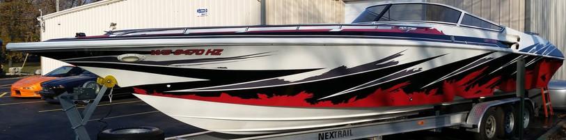 Fountain Boat Graphics