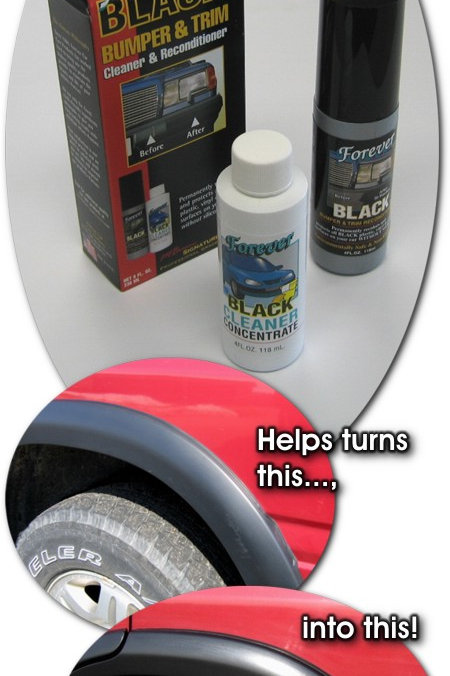 Forever BLACK™ Bumper and Trim Cleaner & Reconditioner Kit