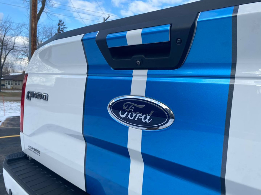 Ford F-150 Rally Stripes