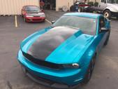 Ford Mustang Wrap - Atomic Teal