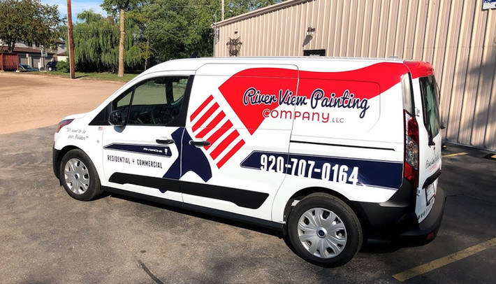Ford Transit Connect Signage