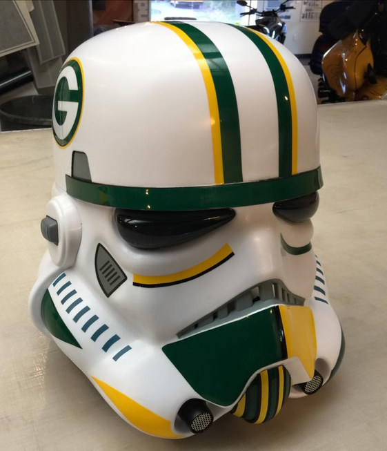 Green bay packer Storm Trooper