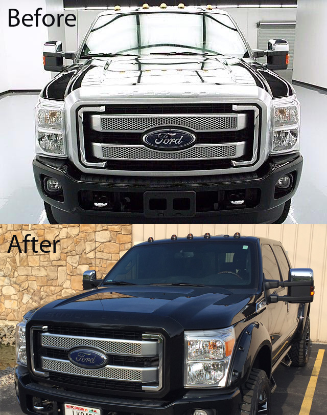 Vehicle Wrap - Color Change F-250