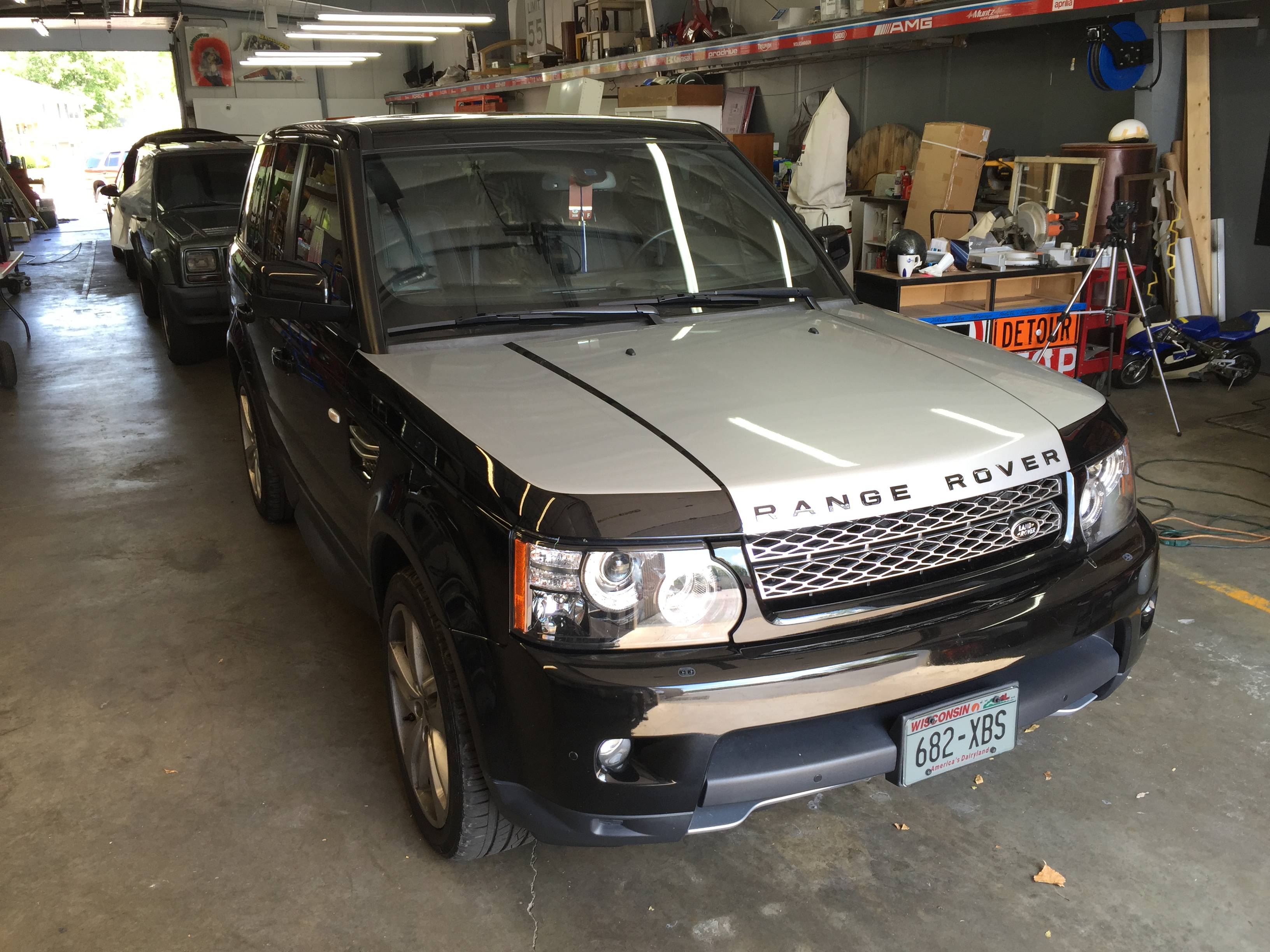 Vehicle Wrap - Color Change, Rover