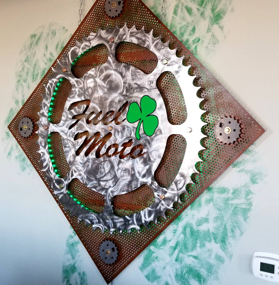 Custom Metal Interior Sign