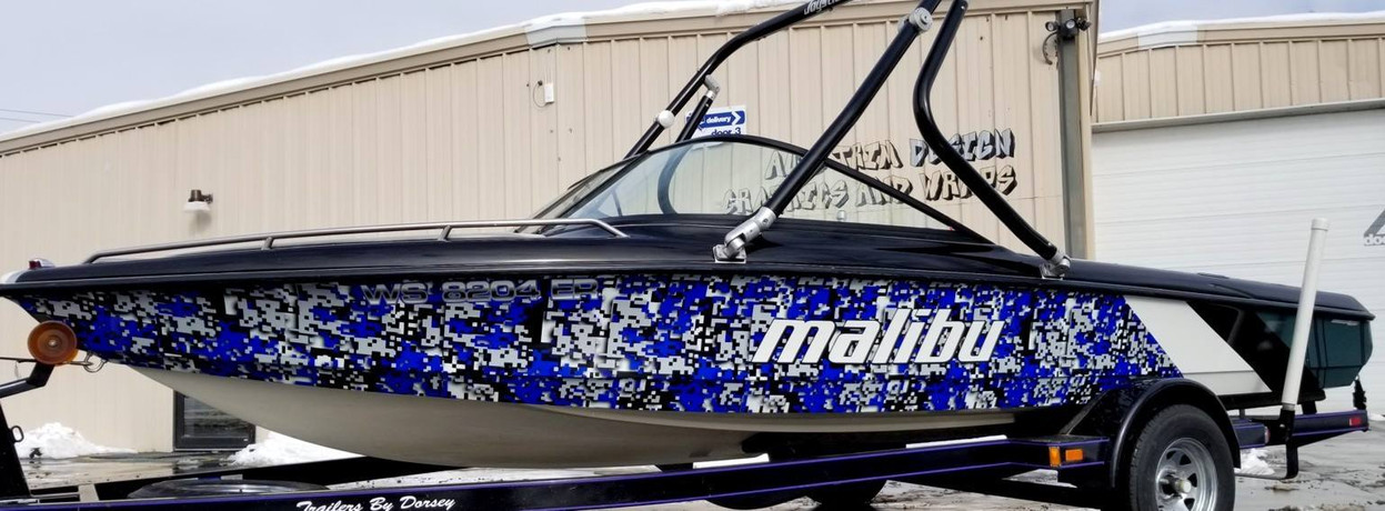 Malibu Boat Graphics