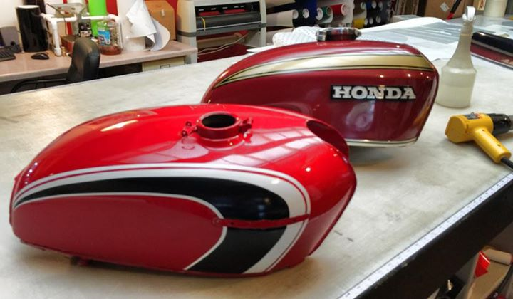 Custom Motorcycle Graphics - Honda