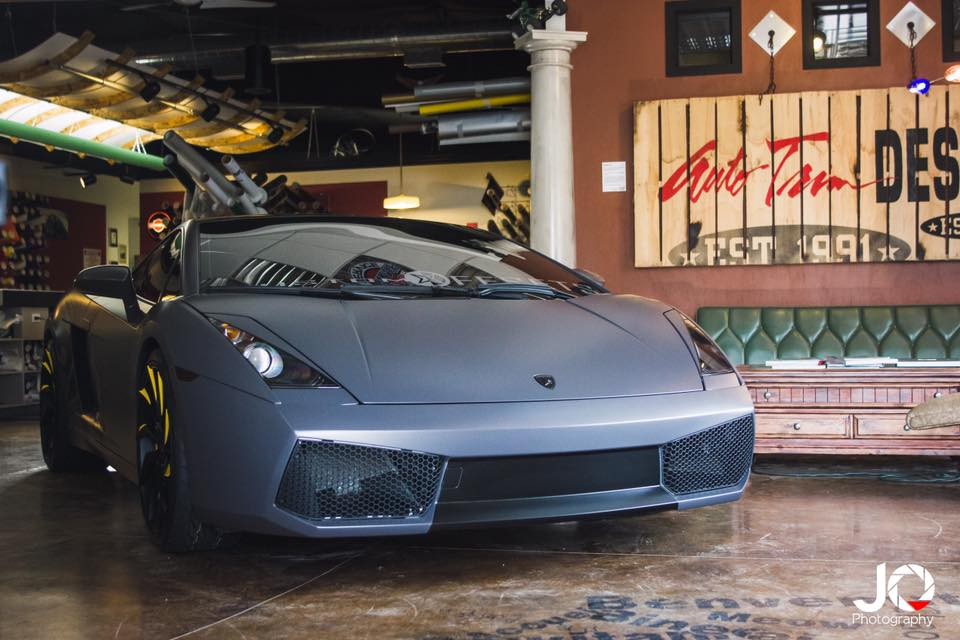 Lamborghini Full Vehicle Wrap