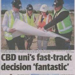 CBD Uni's Fast-Track Decision Fantastic