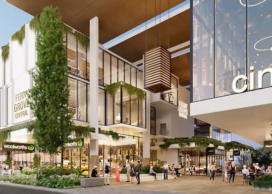 Woolworths and Dan Murphy's sign up to the $140m Ferny Grove Central development