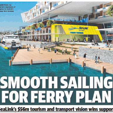 Smooth Sailing for Ferry Plan