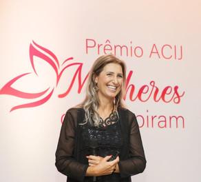 """Lançamento do """"Prêmio ACIJ Mulheres Que Inspiram"""""""