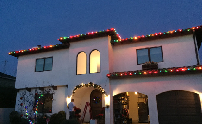 Multi-Color LED Roof-lining