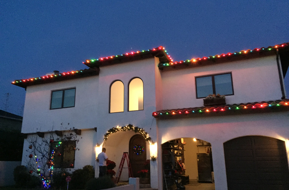 Gingerbread LED Roof Lining