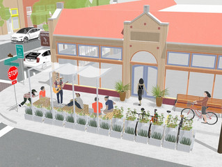 City of Dallas Gets the First Permanent Parklet in DFW, A Pilot for a New Program