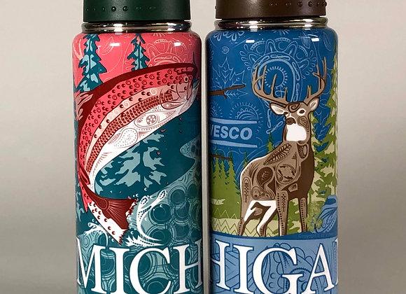 Michigan Themed Thermos