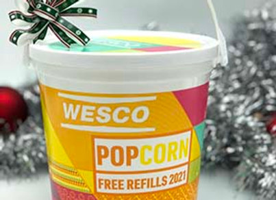Wesco Popcorn Bucket