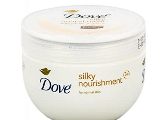Dove Silky Nourishment Body Cream 300ml